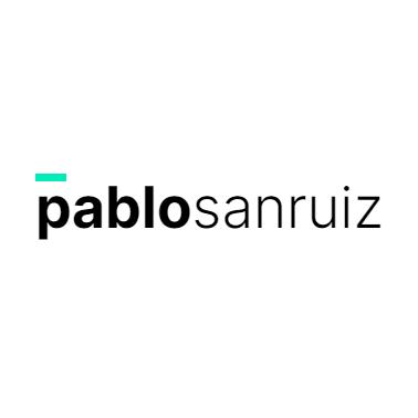 Logo Pablo Sanruiz diseño gráfico y web